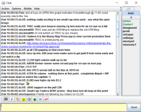 Day trading options chat room